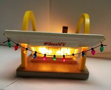 McMemories ~ McDonald's Classic ~ Lighted Restaurant ~ Certificate but, No box