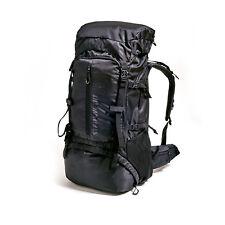 Trekkingrucksack 70L Backpack Camping Wanderrucksack Outdoor Schwarz Unisex NEU