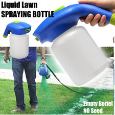 Household Hydro Lawn Grass Seeding System Liquid Spray Device Empty Bottle -