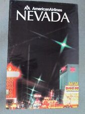 AMERICAN AIRLINES...24 X36 VINTAGE NEVADA POSTER
