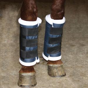 Western or English Saddle Horse Quick Wraps Standing Shipping Bandage Leg Wraps