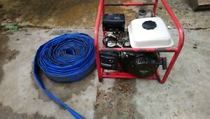 """Clarke 2"""" Water Pump And Hose"""