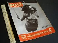 "Home Front ""Picture Post"" Photo News Magazine WWII. Vintage 16 January 1943."