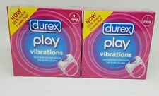 2x Anillo Durex Play Viberating viberation Placer En Caja Sellada
