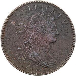 1797 S-122 R5+ G 6 Large Cent
