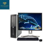 Fast HP Desktop Core2Duo CUSTOM Windows 7/10 8GB RAM 1TB HDD 17