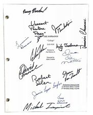 First Season Sopranos Script Signed By 14 Cast Members