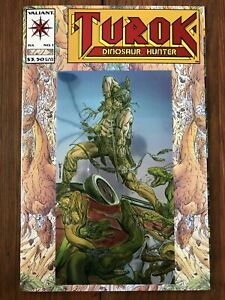 Turok, Dinosaur Hunter #1 (Jul 1993, Acclaim / Valiant) chromium cover