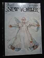"""The New Yorker Dec 23 and 30 2013 """"Snow Angel"""" Cover [Single Issue Magazine] [.."""
