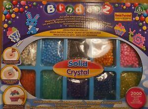 Bindeez - Mega  Pack mit 2000 Perlen, Giochi Preziosi Neu