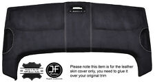 WHITE STITCH STORAGE ROOF HEADLINING PU SUEDE COVER FITS VW CADDY MK3 05-15