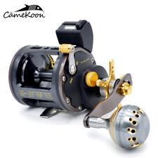 CAMEKOON Saltwater Fishing Reels 26LB Drag Power Trolling Reel With Line Counter