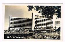 Hotel El Panama City Republica De Panama Real Photo Postcard Unused 1950s