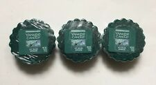 Yankee Candle ICY BLUE SPRUCE TARTS WAX MELTS X 3 NEW SCENT HOLIDAY 2018