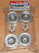 Tamiya 54201 F104 Metal Plated Mesh Wheel Set for Rubber Tires/Tyres (F104V.2)