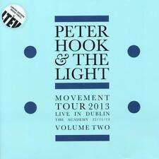 PETER HOOK & THE LIGHT – MOVEMENT TOUR DUBLIN VOL 2 LTD WHITE VINYL LP  (NEW)