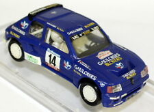 Vitesse 1/43 Scale - SM26 Peugeot 205 T16 Gauloises Rally Diecast Model Car