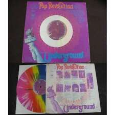VARIOUS - Pop Revolution From The Underground LP Psych Coloured Vinyl 69'