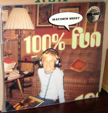 CLASSIC Records LP 72445-11081-1: Matthew Sweet - 100% Fun - OOP 1995 USA SEALED
