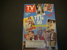 TV Guide, May 6-12 1989, TV I's 50th Happy Birthday, A Collector's Issue S3923