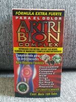 ArtriBion Complex Extra Strong Formula for Pain, new, Free Shipping, 100Tabs.