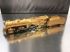 BRASS HO GEM MODELS SAMHONGSA PENNSYLVANIA RR CLASS N1s 2-10-2 U/P EXCELLENT