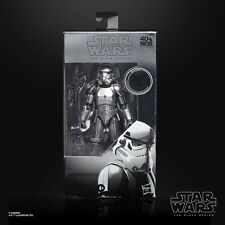 "Star Wars The Black Series Carbonized Stormtrooper 6"" Action Figure in Stock!"