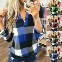 Women Casual Long Sleeve T Shirt Blouse Loose Pullover Tunic Tops Tee Autumn