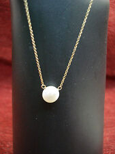 """LOVELY 14K GOLD FILLED FRESHWATER PEARL SINGLE NECKLACE - 18"""" - FREE SHIPPING"""