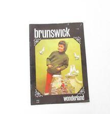 VTG 1970 Brunswick Wonderland Knitting Knits for Children No. 656 Pattern Book