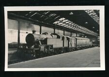 Warwickshire RAILWAY loco #42852 at RUGBY station 1963 photograph