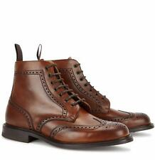 Church's Brown Leather Boots UK8 42 US9 New