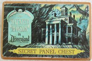 VINTAGE HAUNTED MANSION DISNEYLAND SECRET PANEL CHEST PUZZLE BOX
