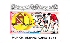Fujeira 1972 Summer Olympic, Munich 1972, MNH, imperf., DELUXE