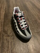 NEW Sz 6Y Youth Nike Air Max 95 GS 905348 036 Particle Grey Red Black