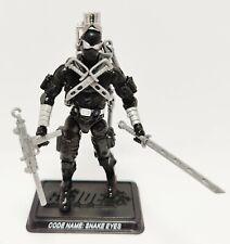 New listing G.I. Joe Snake Eyes v34 2008 25th Anniversary Complete