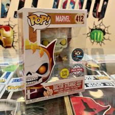 Funko Pop Vinyl Marvel Doctor Strange Ghost Rider (MCM Comic Con Ltd Edt) (GITD)