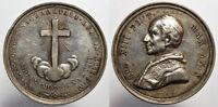 pci5769) PAPA LEONE XIII ANNO X GIUBILEO SACERDOTALE 1888 MEDAGLIA AR  D = 31 mm