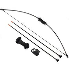 20IBS Bow Sets Kids Archery Hunting Practice Bows W/Protectors & Safe Arrow