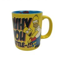 The Simpsons Why You Little 2012 Bart Homer Coffee Mug Twentieth Century Fox