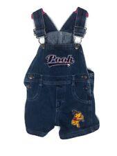 Disney Winnie The Pooh Vintage 90's Baby Overalls Denim 6/9 Months Baseball
