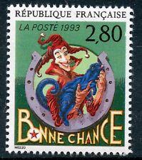 STAMP / TIMBRE FRANCE NEUF N° 2843 ** LE PLAISIR D'ECRIRE / BONNE CHANCE