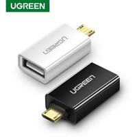 Ugreen Micro Usb OTG Male To Usb 2.0 Type A Female Adapter Converter For Android