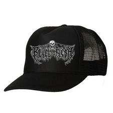 REVEL IN FLESH - Logo TRUCKER HAT death metal ENTOMBED GRAVE DISMEMBER NIHILIST