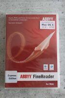 ABBYY FineReader Express Edition - MAC - DE/EN/FR + Multilingual - DVD / Box NEU