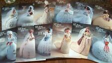 Annies BRIDAL BELLE Bed Doll Brides Crochet Pattern COLLECTION of 13 pattens NEW