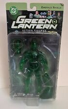 DC Direct Green Lantern Emerald Shield Action Figure Toyfare Exclusive Clear