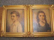 """1920s-1930s Framed Prints """"Richard & Cynthia"""""""