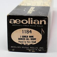 Aeolian Player Piano Roll 1184 I Could Have Danced All Night Vern Elliott