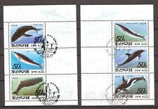 Blokken Vissen - Gestempeld - KN882